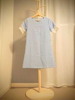Baby Blue Summer Dress - Size 6