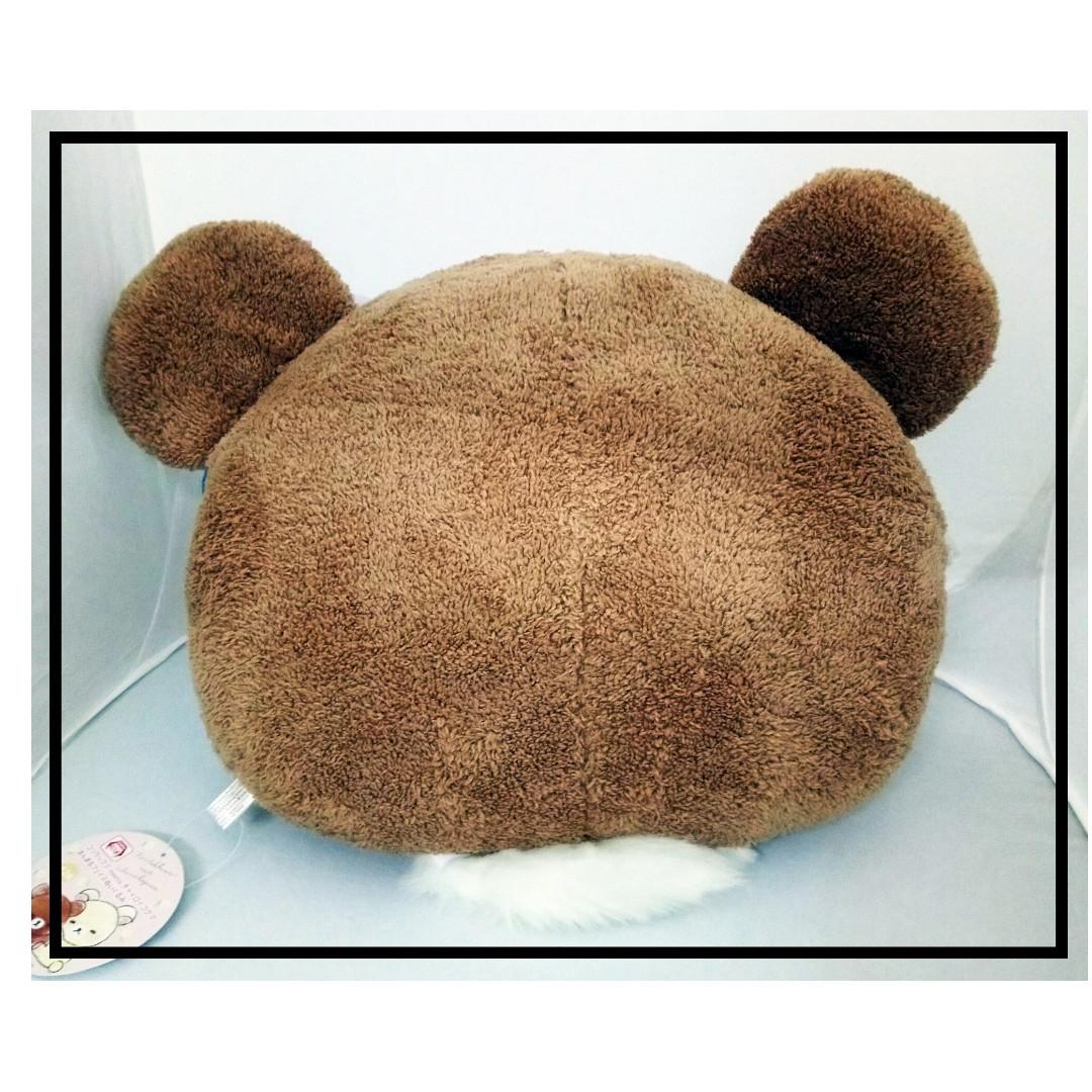 特價景品 50cm闊 cushion 坐/背墊 Rilakkuma(鬆馳熊、鬆弛熊、輕鬆小熊、懶懶熊、リラックマ)
