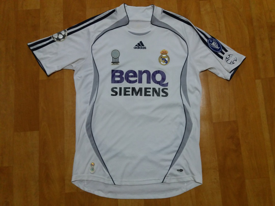 newest 82ba5 22365 Adidas Real Madrid 06 07 Home Jersey #17 Van Nistelrooy