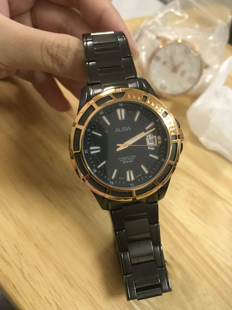 Alba Watch Mens Fashion Watches On Carousell