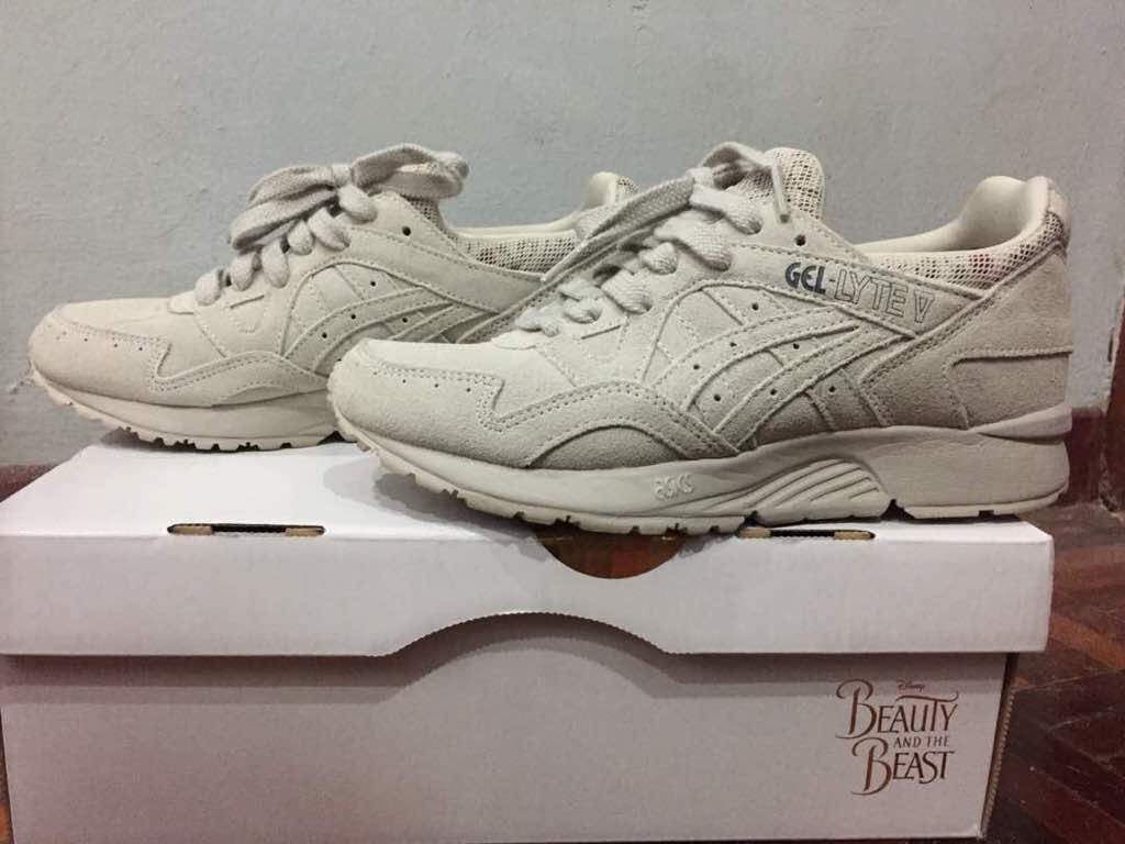 pretty nice 67d16 24264 switzerland asics gel lyte v limited edition beauty the beast womens  fashion shoes on carousell 374e5