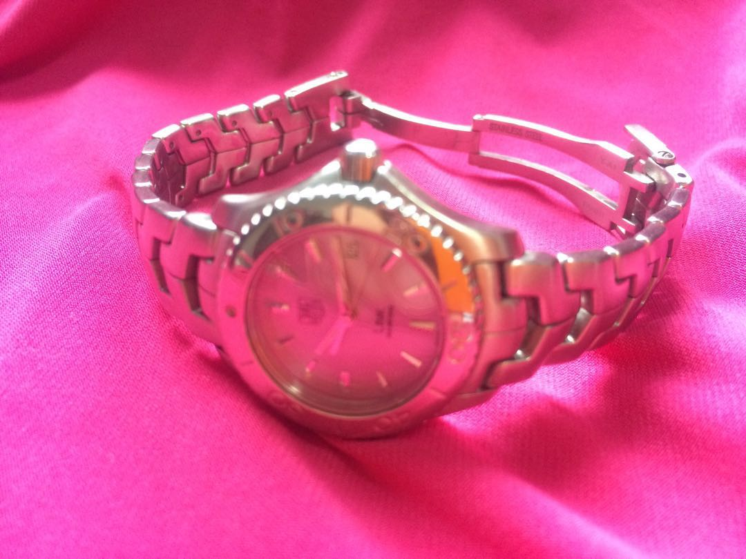 Authentic Tag Heuer Ladies Link Series Di Carousell Jam Tangan Fossil Perfect Boyfriend Multifunction Es4146
