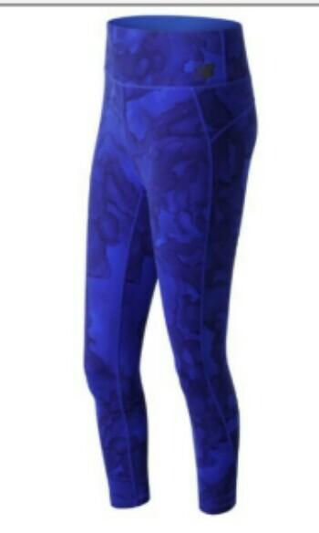 cd26a998d0f20 Authentic women's new balance High Rise Transform Printed Crop pants ...