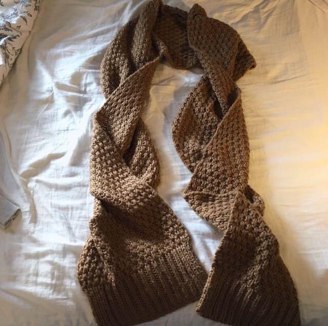 Cozy winter scarf