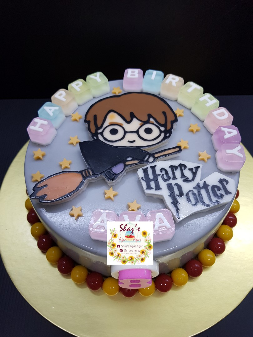 Harry Potter Theme Jelly Agar Birthday Cake Pm For Pricing Food