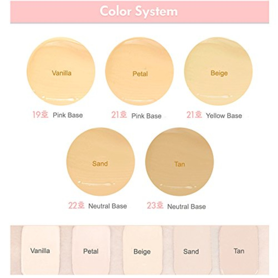 Fine Etude House Bb Cream Colors Image - Coloring Page .