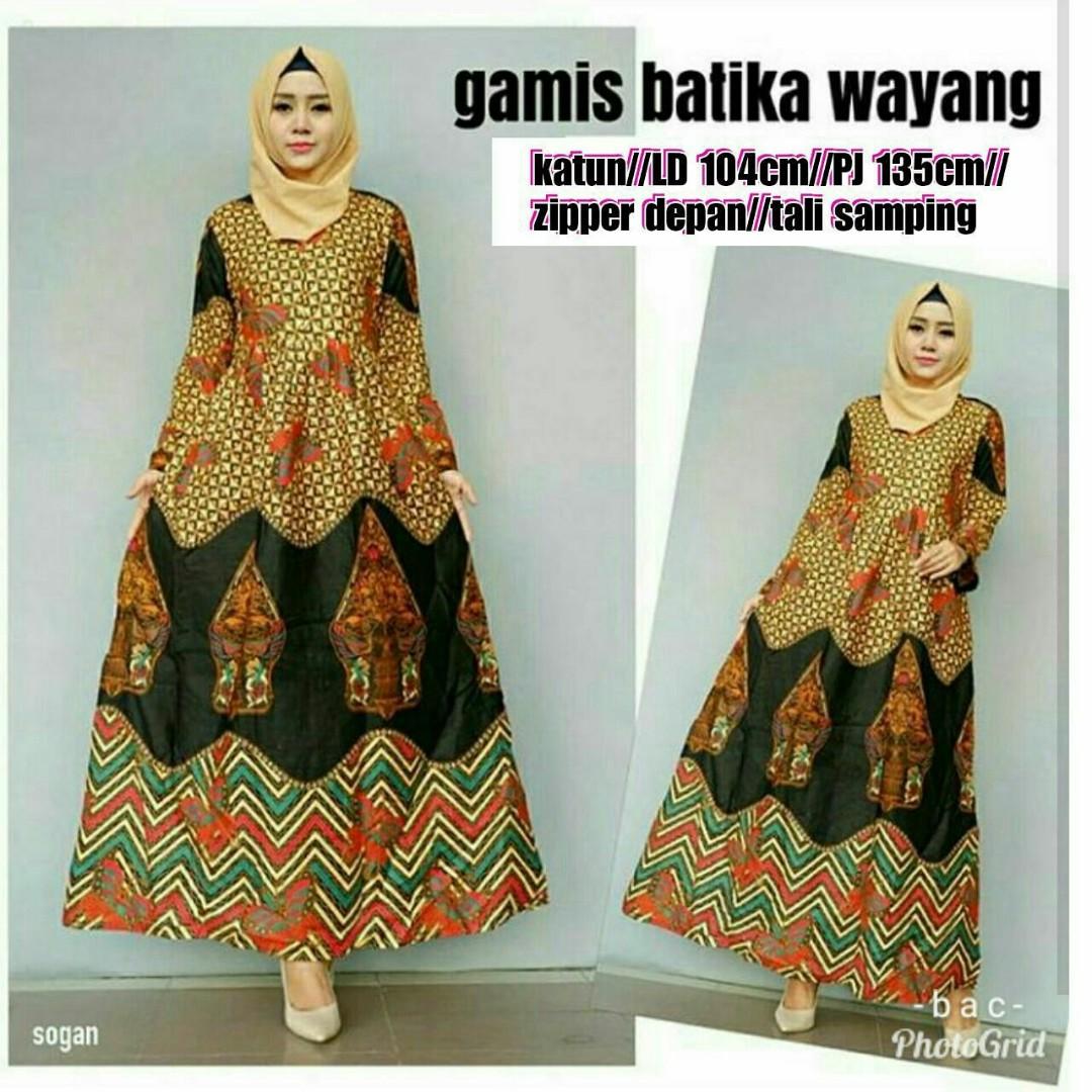 Gamis Batik Cantik Olshop Fashion Olshop Wanita Di Carousell