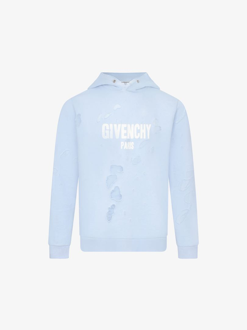 d7d833f0ecd0fd Givenchy Paris Destroyed Hoodie, Men's Fashion, Clothes on Carousell