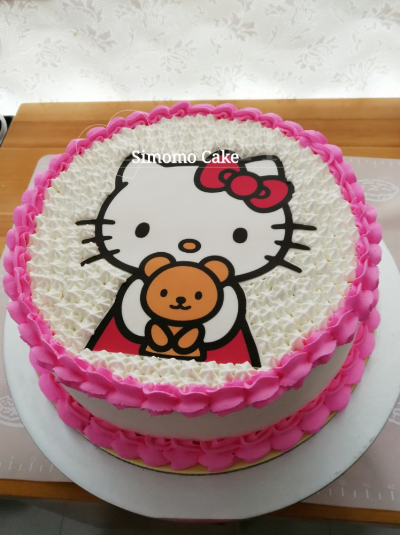Hello Kitty Cake Free Delivery Food Drinks Baked Goods On