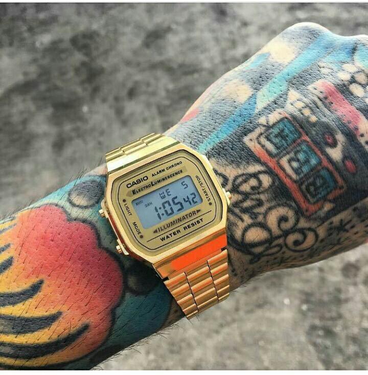 Jam tangan Casio A168