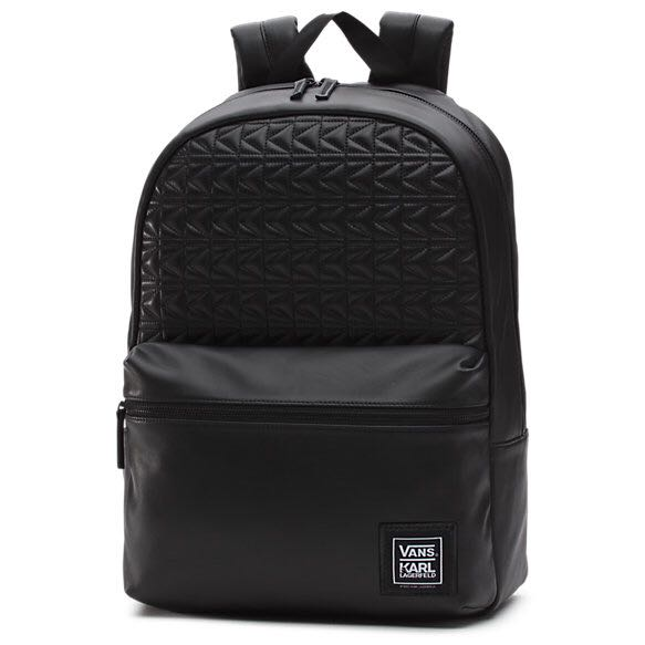 29ece8d6b5 Karl Lagerfeld x Vans Quilted Leather Backpack