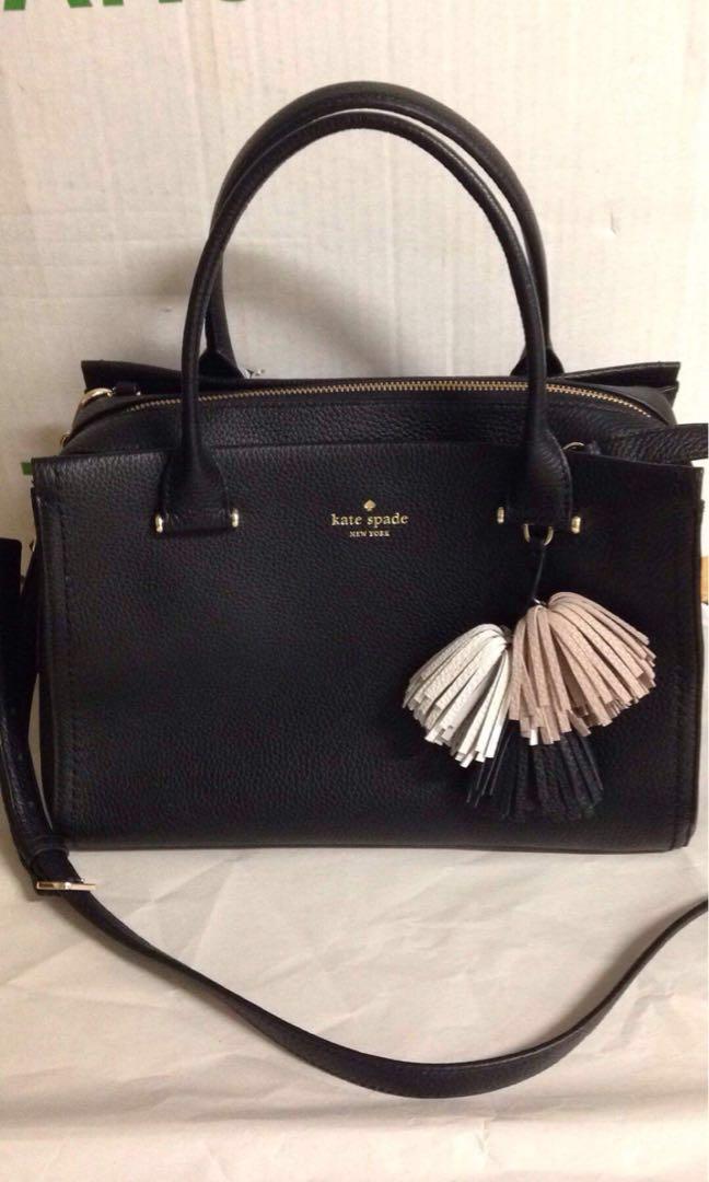 Kate Spade Palmer Drive Black Bag Women S Fashion Bags Wallets On Carou