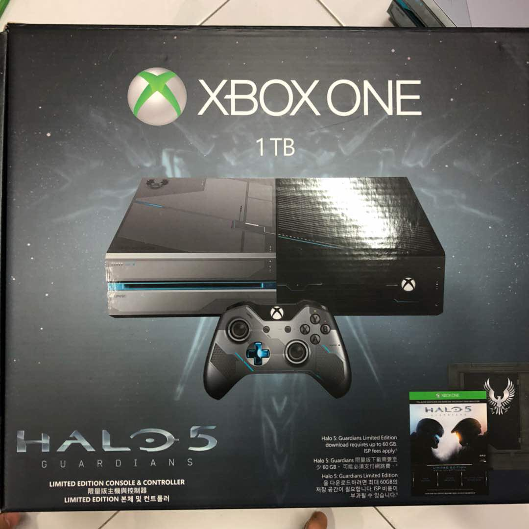 ... Slim 2004 Full Games 16 Gb Hitam April 2018. Source · [LIMITED EDITION] XBOX ONE - Halo 5 ver., Video Gaming, Video
