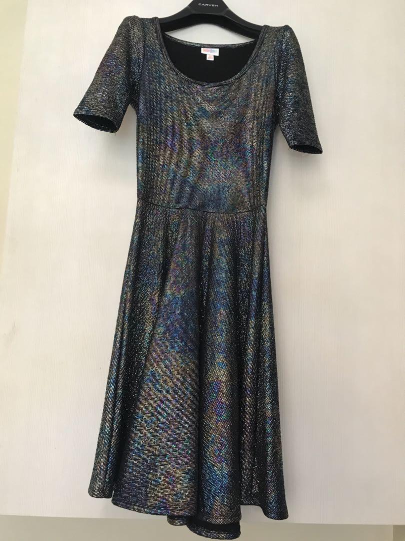 7249947d51 Lularoe unicorn iridescent dress size XS, Women's Fashion, Clothes ...