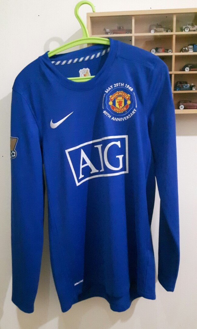 the latest a07fd 27b90 Manchester United Original Jersey 08/09 - 40th Anniversary ...