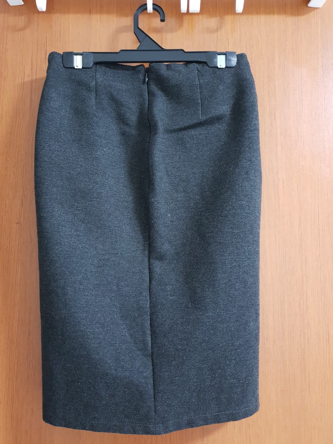 Mango Grey Pencil Skirt