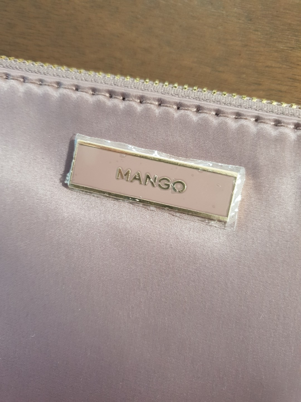 Mango Satin-Pink Pouch
