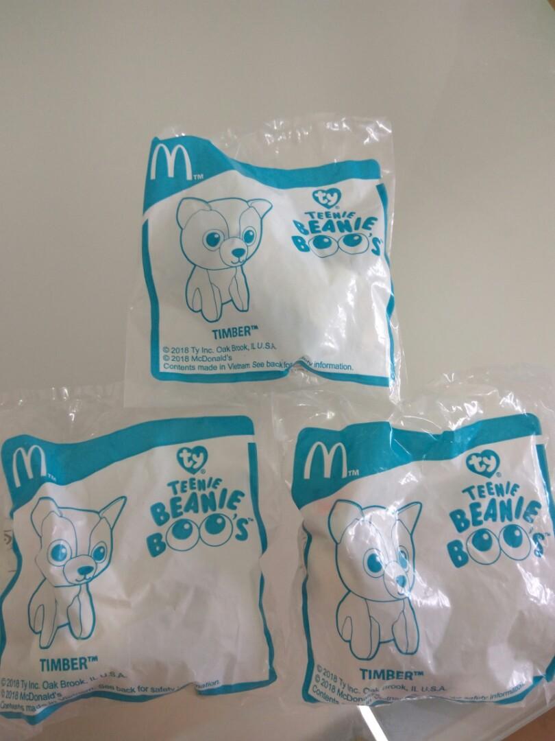 McDonald s TY Teenie Beanie Boo s (Timber) 5a4022c4fd0e
