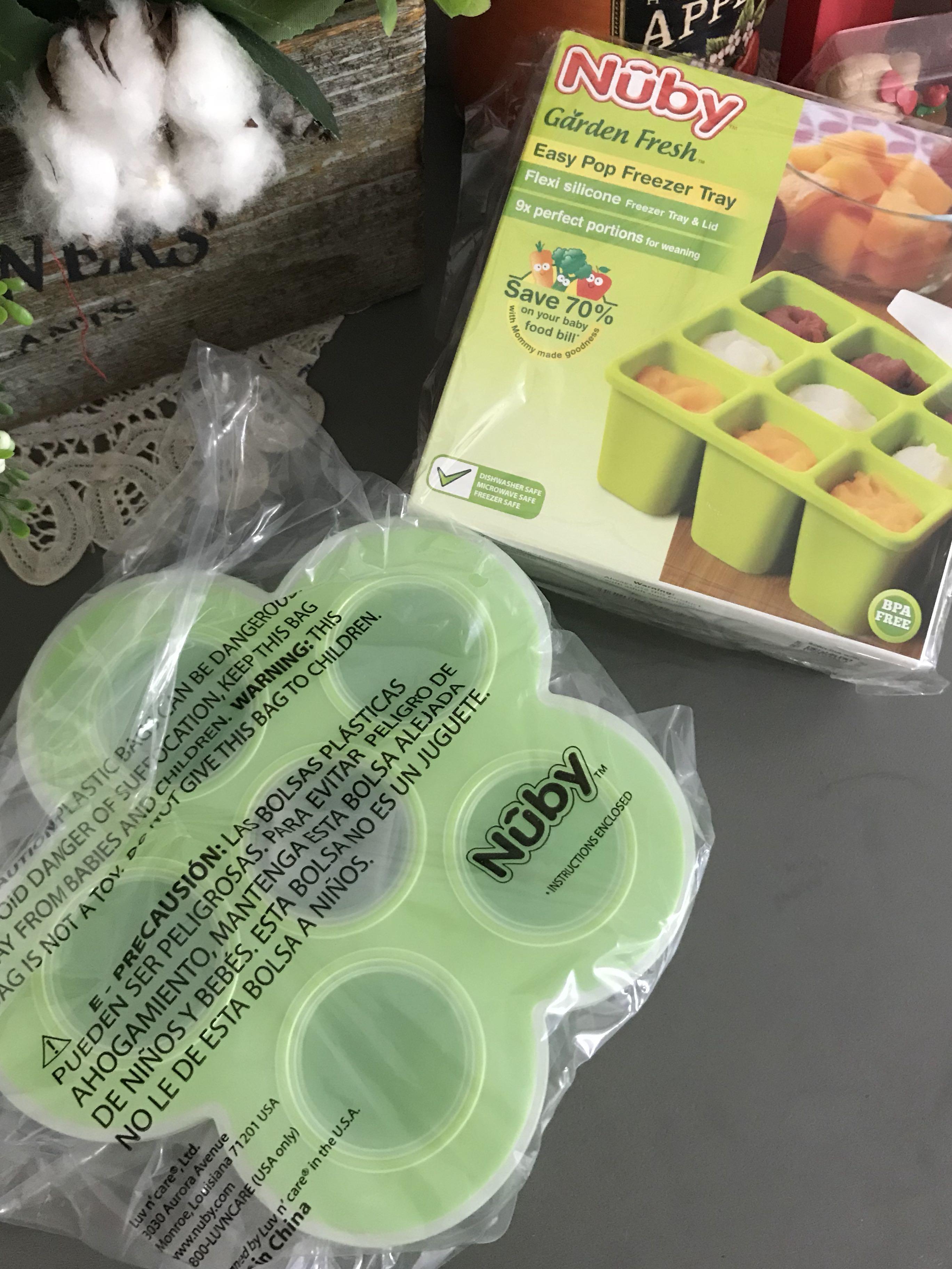 Nuby easy pop freezer tray