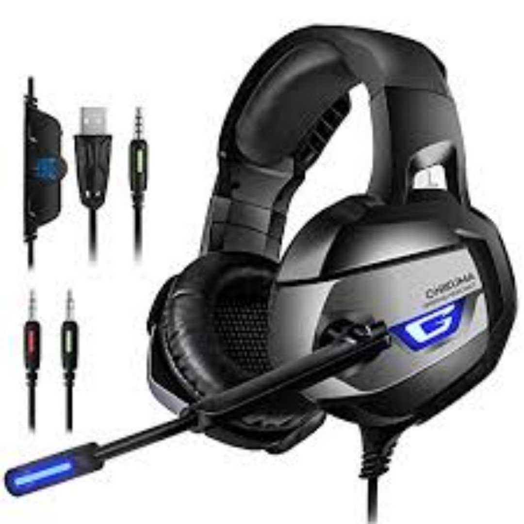 ONIKUMA Gaming Headset - Headset Gaming Headphone for PS4, Xbox One ...