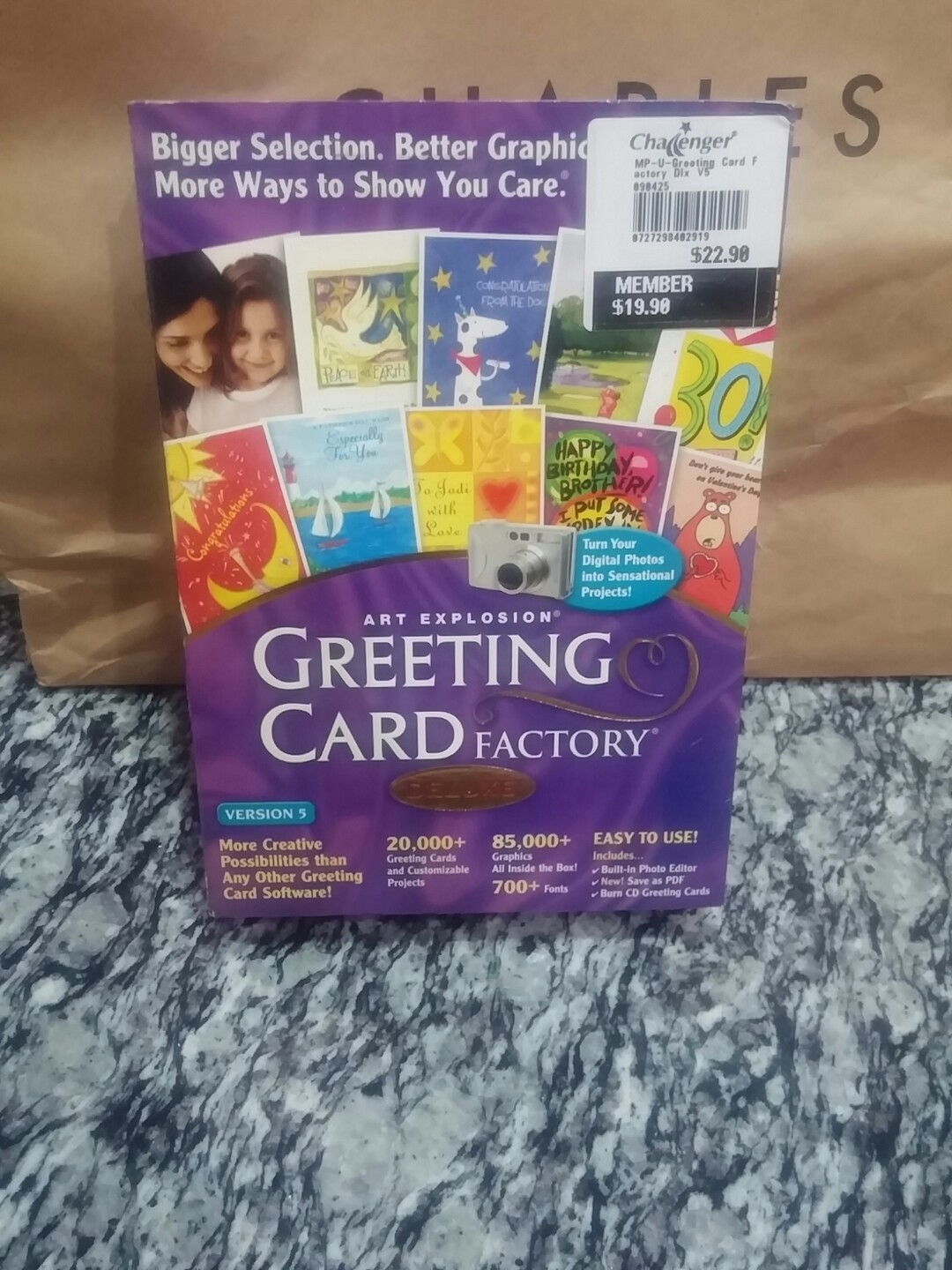 Pc Cd Rom Greeting Card Factory Music Media Cds Dvds Other