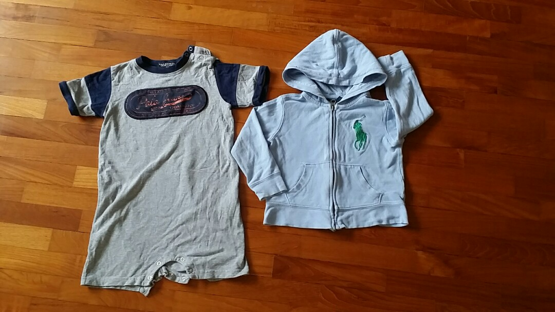 bd94f6dfb495 Polo ralph lauren onesie and jacket