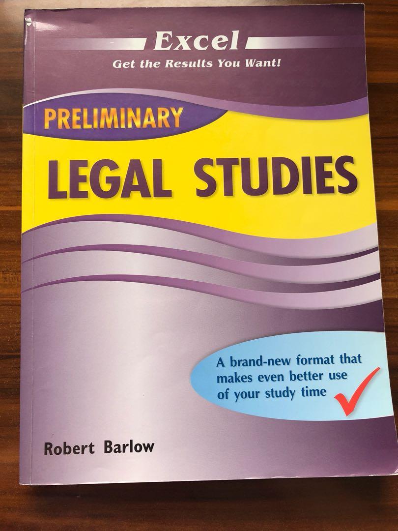 prelim legal studies excel textbooks on carousell