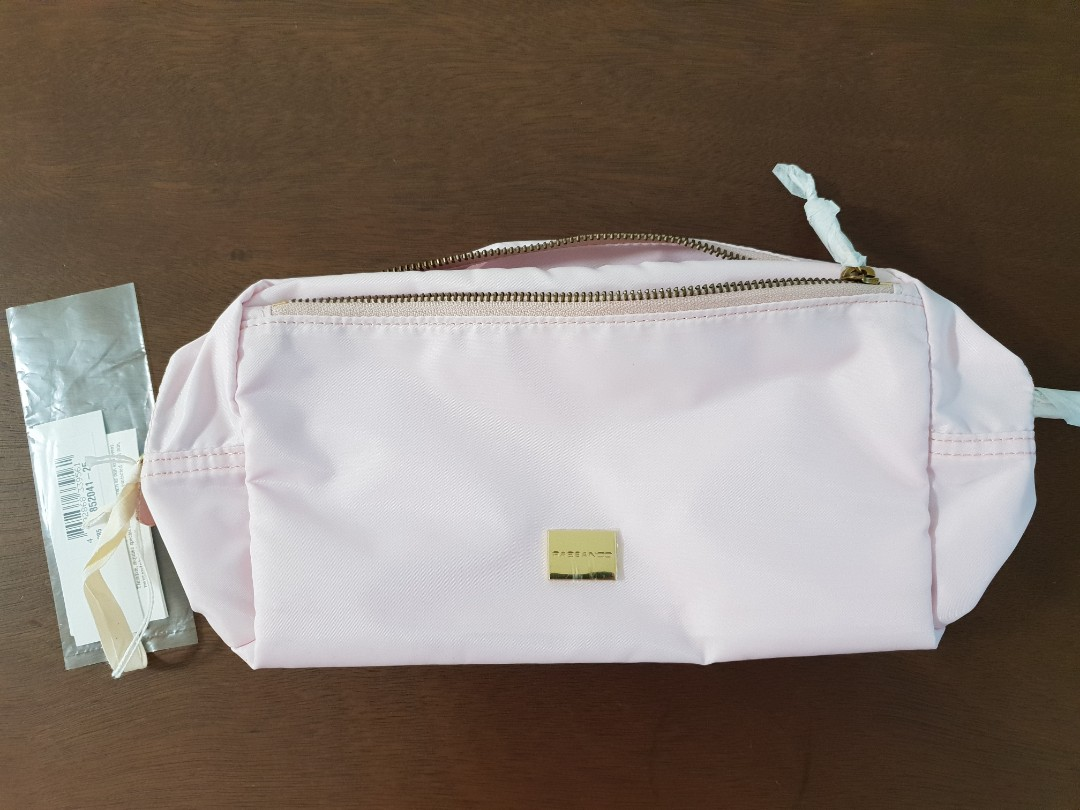 Rabeanco Light Pink Cosmetic Pouch