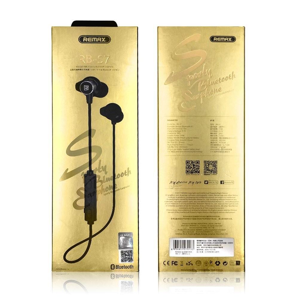 Remax S7 Bluetooth Earphone Electronics Audio Di Carousell Jabra Rox Putih Limited