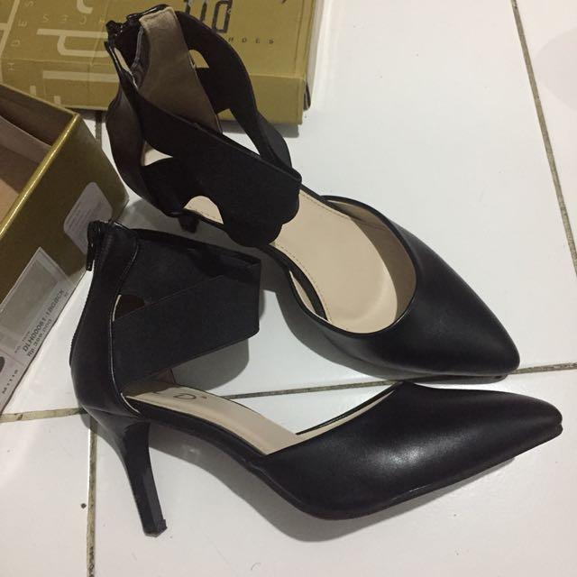 Sepatu high heels 8cm Fladeo   FLD shoes size 38 b32544710e