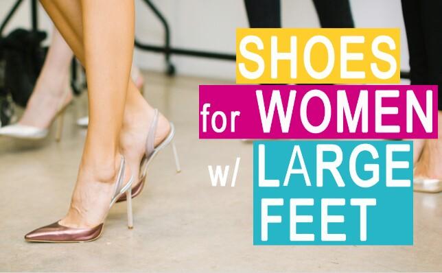 Shoes for Big Feet, Women's Fashion