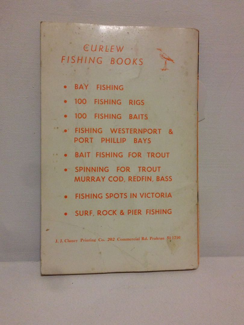Spinning For Trout, Murray Cod, Redfin Bass - Lance Wedlick