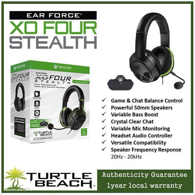 0f3d472da5d Turtle Beach XO FOUR STEALTH 💲60, Toys & Games, Video Gaming ...