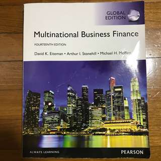 Multinational Business Finance Global 14th Edition