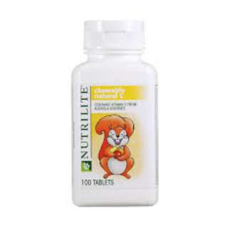 NUTRILITE Chewable Natural C (100 tab) Retail price:$47.50
