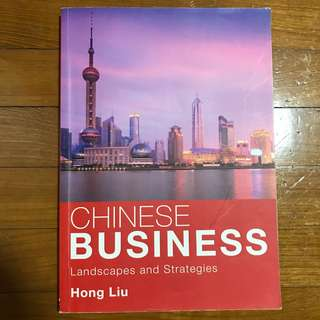 Chinese Business Landscape and Strategies
