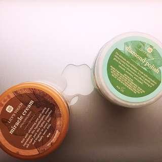 Miracle Cream + Diamong Polish