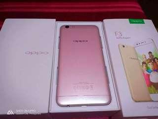 Oppo F3 rosegold