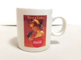 Coca-Cola Brand Cup & Saucer 1999年日本紀念馬克杯