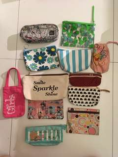 pencil cases drawstring bags pouches
