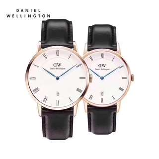 Daniel Wellington Couple watch dapper black Sheffield 38mm&34'mm