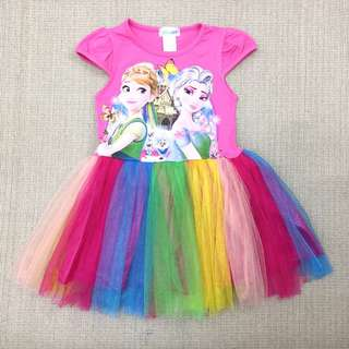 Frozen dress For Age 2-8 yrs Old