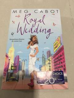 Royal Wedding Meg Cabot