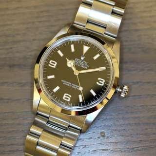 Rolex Explorer I 14270 Tritium