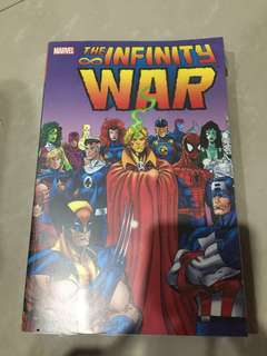 Comic Infinity War Marvel