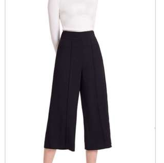 Doublewoot black culottes/pants