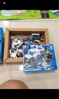 Emco lego toy brick 3 in 1
