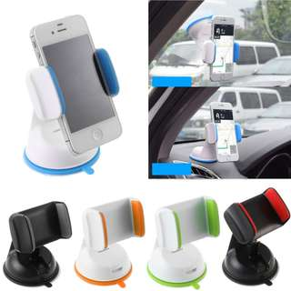 Car Dash Mount Holder GPS Phone Stand Silicone Suction Cup
