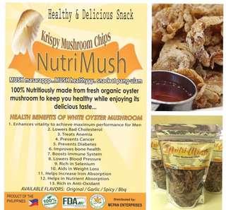Nutrimush Mushroom Chicharon