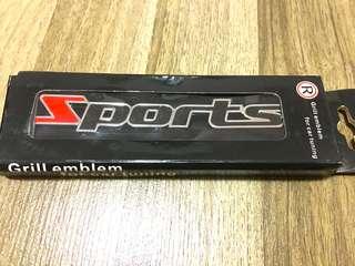 Sports badge